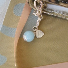 Baby Blue Charm Silver