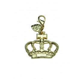 Crown Charm Gold