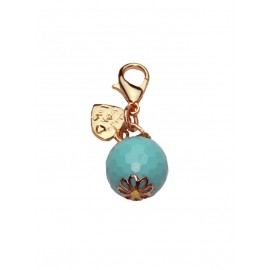 Turquoise Charm Rose Gold